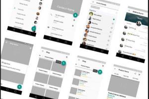 Portfolio for Prototype Wireframe || UI/UX design