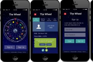 Portfolio for User Interface design for Mobile apps