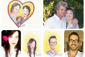 Portfolio for Illustrated portraits