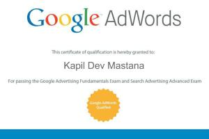 Portfolio for Certified Google Adword | Bing | PPC