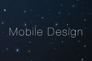 Portfolio for Mobile Application Design