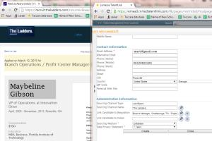 Uploading Resume to Applicants Tracking System