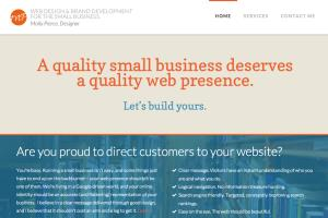 Portfolio for Small Business Web Design