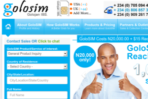 eCommerce Website for my GlobalSIM