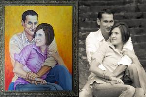 Portfolio for Portrait paintings for special occasions