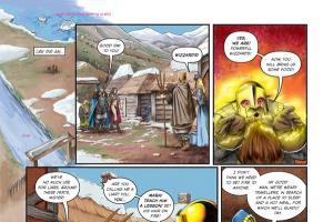 Portfolio for Colorist of comic