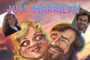 Wedding caricatures
