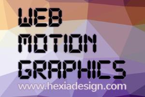 Portfolio for Hexia Motion Graphics & 3D