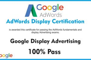 Portfolio for Google Adwords Certification