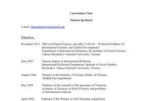 Portfolio for Research & Consulting