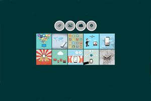 Portfolio for HTML, CSS & jQuery coding