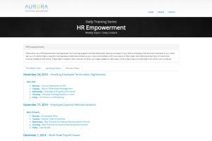 Portfolio for PHP Application Development