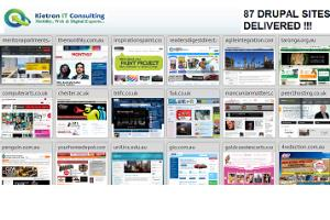 Kietron Drupal Websites (85+)