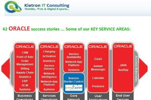 Portfolio for Oracle Database Services