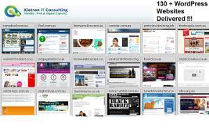 Kietron WordPress (130+) CMS Portfolio