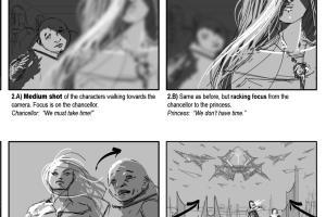 Portfolio for Storyboarding