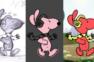 Portfolio for cartoon animation