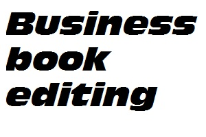 Business Book editing