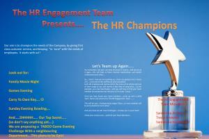 Portfolio for Competitive Communications Specialist