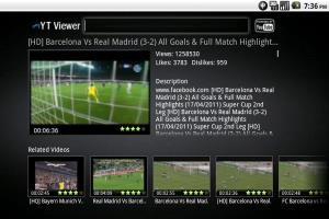 My Youtube Viewer Application