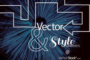 VectorStock Social Media Advertisement