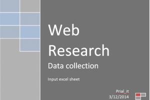 Portfolio for DataEntry,Web Research,Off page seo.