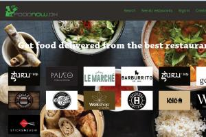 Portfolio for Search Restaurant Online/ Food Delivery