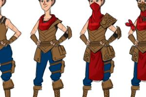 Portfolio for Character Design
