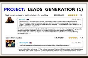 Portfolio for Leads Generation