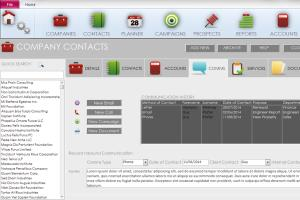 Access Database CRM