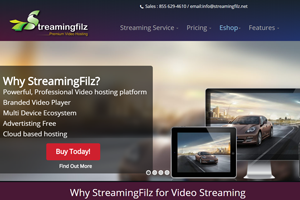 Portfolio for Live Streamingfilz Joomla Template