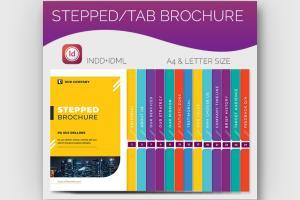 Stepped Brochre \u0026 Tab Brochure