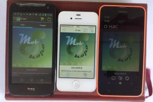 Portfolio for Mobile Application Development.