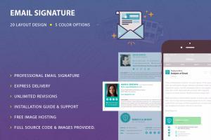 Portfolio for Email Signature Design & HTML