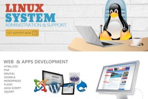 Portfolio for Linux System Administration / Web Dev.