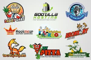 Portfolio for Mascot logo designs