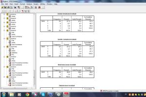 Portfolio for Hire me for Excel, Access, SPSS