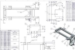 Portfolio for Professional Engineering Drawings