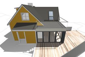 Portfolio for Drafting and modeling (Archicad)