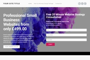 Portfolio for I Will Design Or Redesign Wix Website
