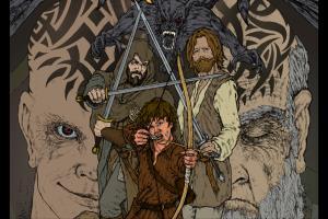 ALEXANDER graphic novel artwork