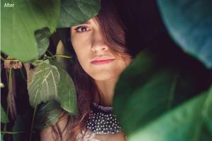 Portfolio for photographer, photograph color corretion