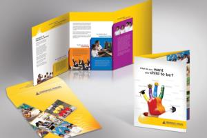 Portfolio for brochure and flyer design