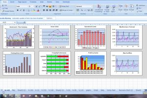 Portfolio for Excel: Charts and Graphs