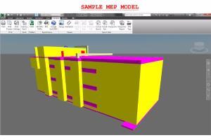 Portfolio for 3D MEP BIM in Revit Navisworks