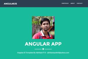 Portfolio for AngularJS Projects