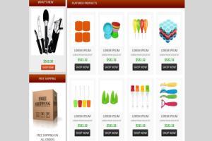 Portfolio for eCommerce Web Store Development