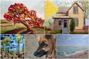 Portfolio for Commissioned Paintings