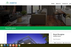 Portfolio for Real Estate Website Development