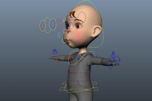 Portfolio for 3D Rigging